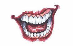 Pin By No Name On Joker Pinterest Tattoos Joker Smile