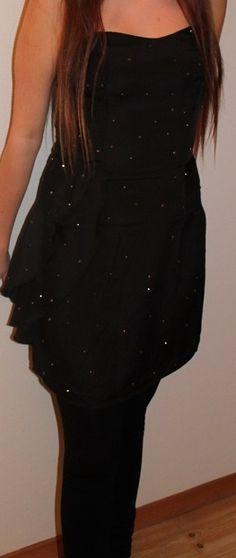 #dress #black #silver #sparkling #fashion #style #clothing