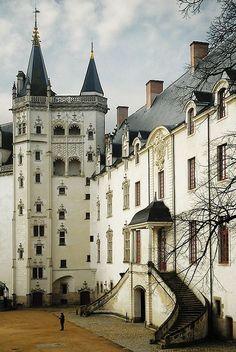 The castle de Ramparts - Nantes - Pays de la Loire région, France