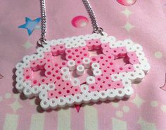 New kawaii brass knuckles necklace! Available here!