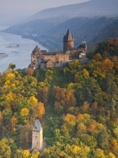 Burg Stahleck, Bacharach, Rhine Valley, Germany