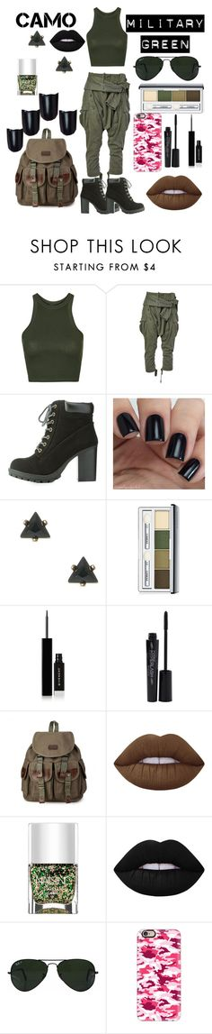 """""""Untitled #132"""" by fashionforwardfaith ❤ liked on Polyvore featuring Topshop, Faith Connexion, Charlotte Russe, Clinique, Givenchy, Smashbox, Lime Crime, Nails Inc., Ray-Ban and Casetify"""