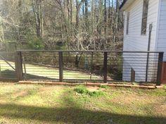 Simple rebar fence