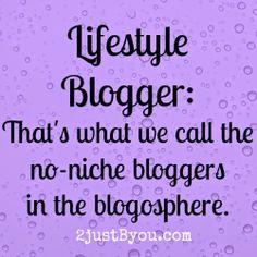 No Niche Blogging {Critique my Blog}