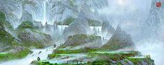 Imágenes conceptuales de Kung Fu Panda 3, de Dreamworks | 3DA, El Portal del 3D…