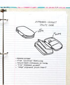 Zip A Bag Chapter 14: Zippered-Gusset Utility Case