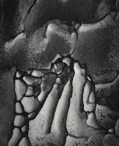 WYNN BULLOCK  1902 - 1975 Rock Date:1971