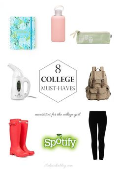 Going back to college? Make sure you have these 8 must-have items to make your college life easier.