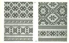 Latvian Mittens (charts) - Monika Romanoff - Λευκώματα Iστού Picasa