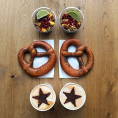 Symmetrical Breakfasts made with Love – Fubiz Media