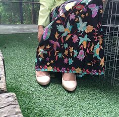 This is beautiful....batik is now in fashion 😍....byprettyhani