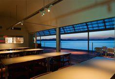 Arquitetura minimalista e design enxuto em Teshima, no Japão.