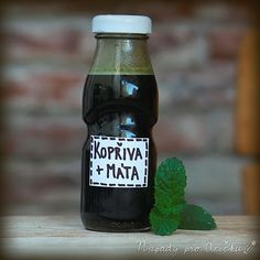 Food Humor, Beer Bottle, Herbs, Smoothies, Homemade, Drinks, Cooking, Syrup, Liquor