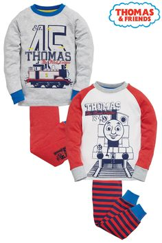 Buy Two Pack Thomas Pyjamas (9mths-6yrs) from the Next UK online shop