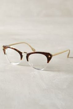 Elizabeth and James Gramercy Glasses Brown Motif One Size Eyewear #anthroregistry