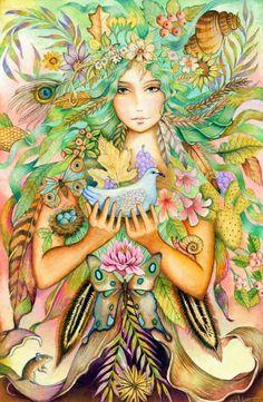 Holly Sierra ~ American Magic realism painter | Tutt'Art@ | Pittura * Scultura * Poesia * Musica |