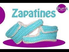 Tutorial Zapatines a crochet paso a paso - YouTube
