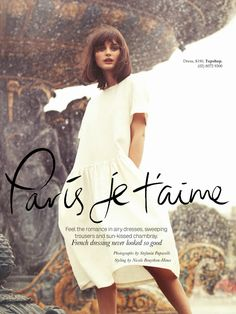 paris je t'aime: sibui nazarenko by stefania paparelli for elle australia december 2013