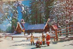 Santa's Village, Cabin, House Styles, Painting, Home Decor, Art, Art Background, Decoration Home, Room Decor