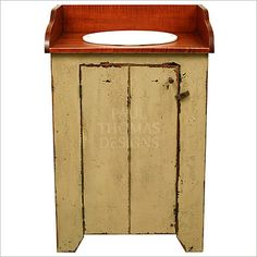 Early American Antique Primitive Furniture | Hopewell Vintage Country  Cottage Bathroom Vanity