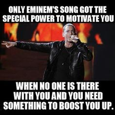 The power of Eminem songs