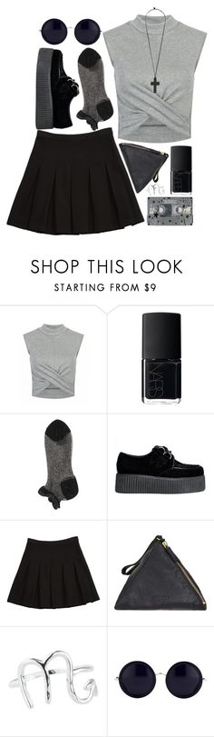 """""""// 20th Birthday"""" by spaceygracey on Polyvore featuring NARS Cosmetics, Diane Von Furstenberg, CASSETTE, Jil Sander, Rock 'N Rose, The Row and Forever 21"""