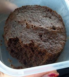 Flourless Chocolate Mug Cake (sugar-free) Recipe