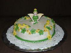"""Gâteau anniversaire """"la fée clochette"""""""