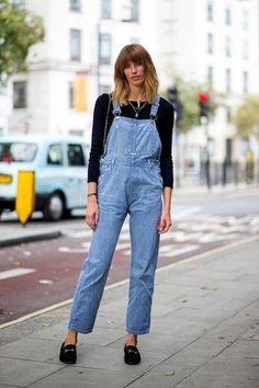 Le Fashion Blog London Street Style Veronika Heilbrunner Bangs Denim Overalls Suede Gucci Loafers Via Harpers Bazaar photo Le-Fashion-Blog-London-Street-Style-Veronika-Heilbrunner-Bangs-Denim-Overalls-Suede-Gucci-Loafers-Via-Harpers-Bazaar.jpg