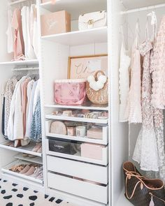 [New] The 10 Best Home Decor Ideas Today (with Pictures) - The ultimate wardrobe/closet goals! The organisation the details just everything is perfect Open Wardrobe, Wardrobe Design, Wardrobe Closet, Wardrobe Organisation, Home Organization, Organizing, Wardrobe Solutions, Comfortable Pillows, New Room
