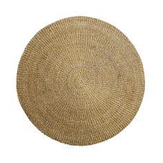 tapis rond en coton tress tapis pinterest tapis en coton coton et mobiles. Black Bedroom Furniture Sets. Home Design Ideas