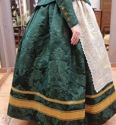 Regional, Sari, Fashion, Vestidos, Green, Skirts, Suits, Needlepoint, Saree