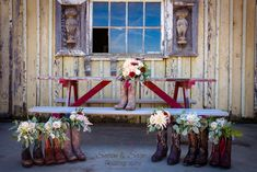 Florals by BW Events Photography by Satin & Sage Location: Ford Farms