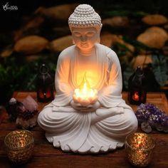 Buddha Statue Home, Buddha Home Decor, Buddha Wall Art, Buddha Painting, Buddha Statues, Buddha Gold, Buddha Zen, Buddha Buddhism, Baby Buddha