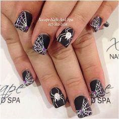 Instagram media xscapenails -  halloween #nail #nails #nailart