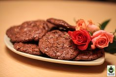 Giant Chocolate Toffee Cookies #FairTrade #recipe