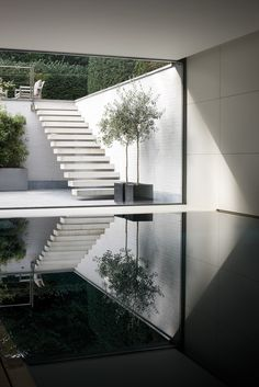 Visions of the Future: house vs - bataille + ibens - ext stair