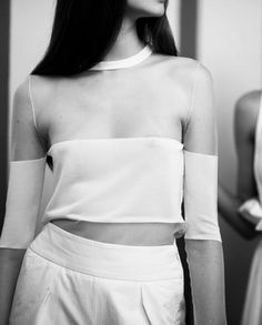 Backstage at Damir Doma Resort 2014 photographed by Adam Katz Sinding