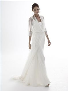 bridal+gowns+for+older+brides+over+40 | The mature bride and also the modern wedding gown | starstylemepretty