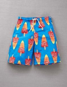 quick drying and such fun prints to choose from. plus many also come in men's sizes so your guys can match!