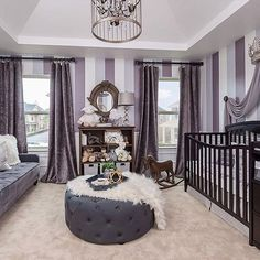 inspire_me_home_decor - How precious is this nursery?? By Mikel Welch Designs