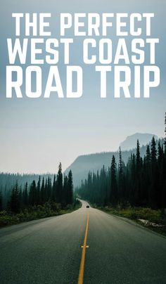 If you're looking for inspiration for your next American road trip on the West Coast, then check out this perfect West American road trip! Looking for inspiration for your next road trip on the West Coast? Here's the perfect West American road trip! Road Trip Essentials, Road Trip Hacks, Road Trips, Solo Travel, Travel Usa, Travel Tips, Texas Travel, Travel Guides, California Travel