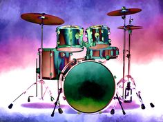 Artistic drum set for all music lovers and musicians. Great addition to your walls in your home or office or work station. Drums Wallpaper, Drawing Wallpaper, Photography For Sale, Art Photography, Music Drawings, Art Drawings, Music Collage, Guitar Drawing, Drums Art