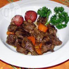 Goulash met hertenvlees