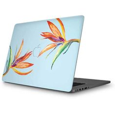 Birds of Paradise Summer MacBook Skins. Shop now at www.skinit.com! #summer #macbook #macbookskin #laptop #laptopskin #birdsofparadise