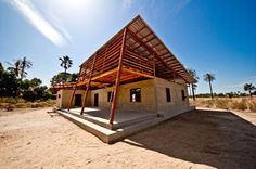 Youth Center In Niafourang / Project Niafourang | ArchDaily