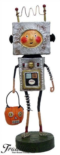 Lori Mitchell Robby Robot Figurine