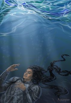 Death of Ecthelion, Lord of the Fountain by Mysilvergreen on DeviantArt