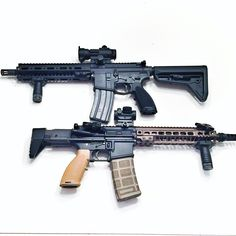 NFA Guns. machine gun and an SBR AR15. Full auto fun! #ar15 #m16 #guns #tacpack www.tacpack.com