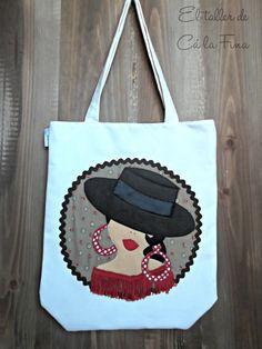 Bolso flamenco modelo Córdoba #bolsosflamencos #bolsospersonalizados